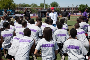 DeSean Jackson F.A.S.T. Youth Camp