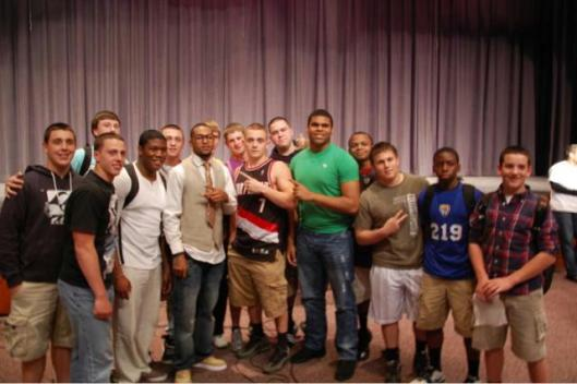Cinnaminson High School Anti-Bullying Campaign - 2012 - with DeSean Jackson, of the Philadelphia Eagles
