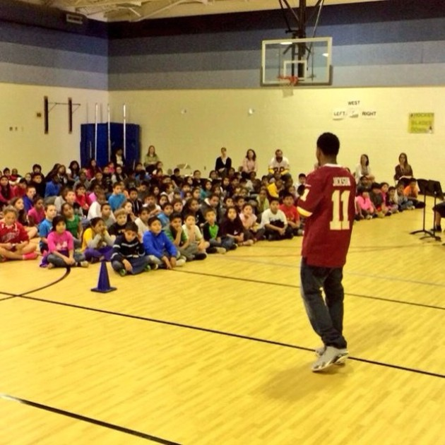 DeSean Jackson, Washington Redskin, delivers Anti-Bullying Message