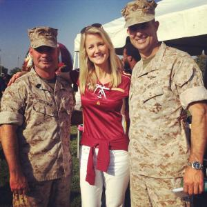 Mrs. Dan Snyder and Our Military Heroes