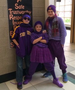 AGS Middle School - Raising Pancreatic Cancer for DeSean Jackson. Swagged Out in Purple.