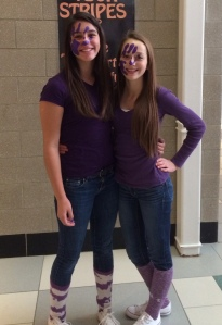 2014 AGS Middle School - Purple Out - Supporting DeSean Jackson