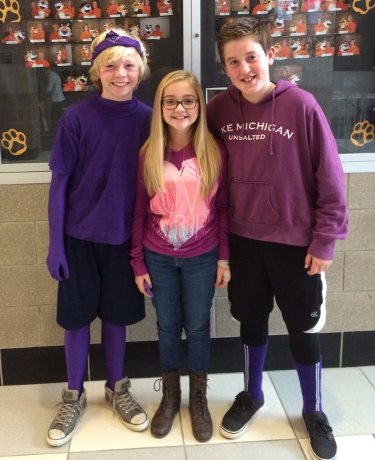 2014 AGS Middle School - Purple Out - Supports DeSean Jackson and The DeSean Jackson Foundation
