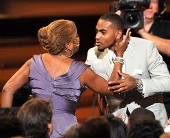 Gayle and DeSean Jackson at the ESPY Awards