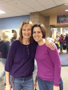 AGS Middle School - Purple Out Advisers - Teachers Mrs. Jill Smigielski and Mrs. Grove