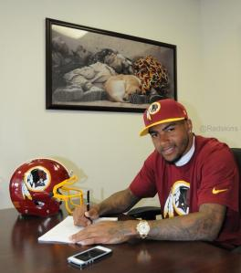 DeSean Jackson Signs With Washington Redskins