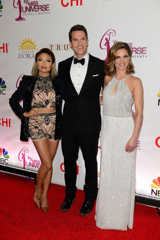 - 2015 Miss Universe Pageant Hosts