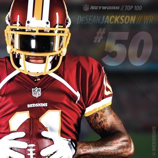 DeSean NFL Top 50