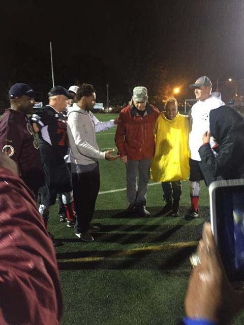 DeSean Jackson Officiating Coin Toss