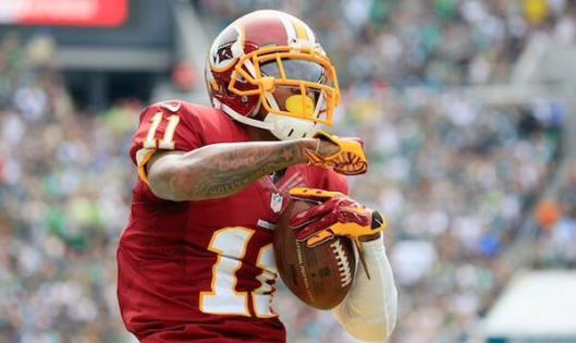 DeSean Jackson Washington Redskins (Photo donated by the Washington Redskins)