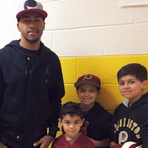 DeSean Jackson and Roberto Clemente Students