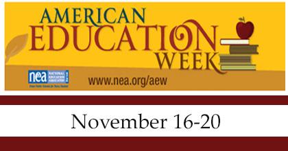 Trail Side AmericanEducationWeek