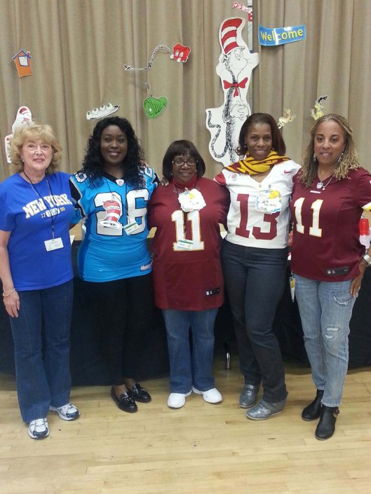 NFL Moms Read Across America