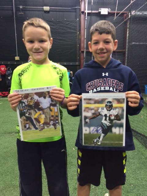 Winners of DeSean Jackson Photos: Blake Ketron and Anderson Franklin